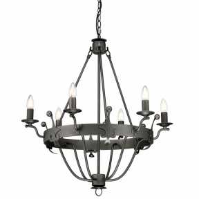 Люстра Elstead Lighting (Windsor Graphite) WINDSOR6 GR