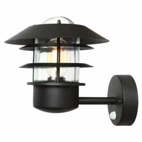 Уличный светильник Elstead Lighting (HELSINGOR ) HELSINGOR PIR BK
